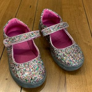 Harper Canyon Mary Jane Glitter Shoes (9T)